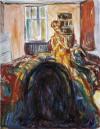 Self-Portrait During the Eye Disease I - Edvard Munch, 1930