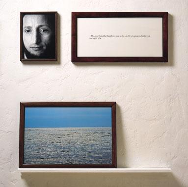 """Série Les Aveugles - La Mer- Sophie Calle, 1986 """"La plus belle chose que j'ai vue, c'est la mer, la mer à perte de vue"""""""