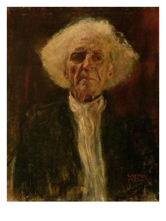 Study-of-the-Head-of-a-Blind-Man - Gustav Klimt