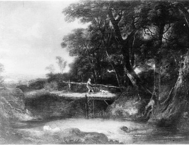 The blind man on the bridge - Gainsborough