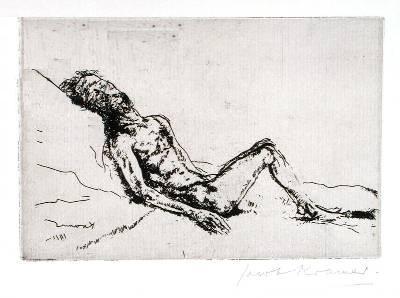 The Blind Beggar - Jacob Kramer, 1918