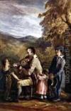 The Blind Fiddler at Brathay - John Harden