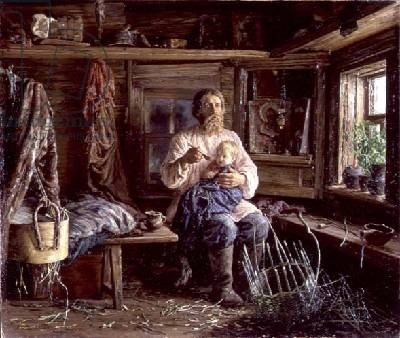 The Blind Husband - Vasili Maksimovich Maksimov, 1884