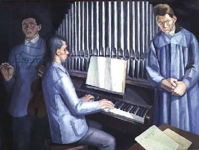 Los Ciegos Músicos - Daniel Vazquez Diaz, 1921