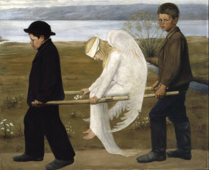 The Wounded Angel - Hugo Simberg, 1903
