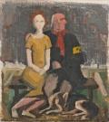 The blind and the girl - Karl Hofer
