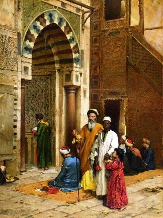 Cego na Mesquita - Arthur von Ferraris, 1892