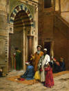 The blind man - Arthur von Ferraris, 1892