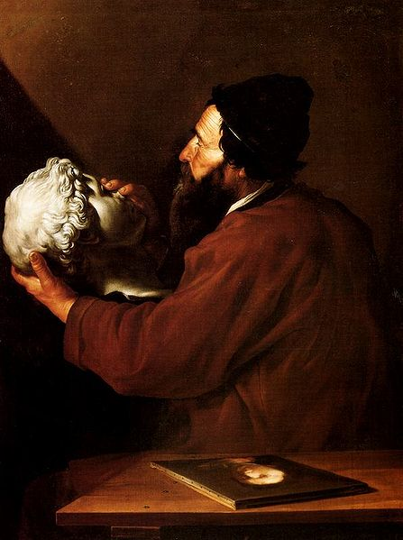 The Sense of Touch - José de Ribera (série 5 sentidos), 1615-1616