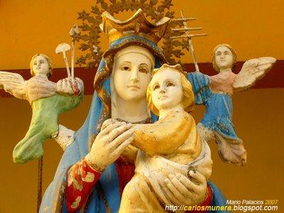 Virgen, Nino Y dos Angeles Ciegos