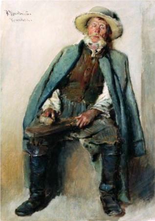 Blind man - Constantin Makovsky, 1880