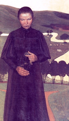 Rapariga cega - Ejnar Nielsen, 1896