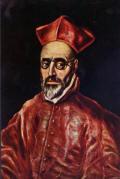 Cardeal Fernando Niño de Guevara - El Greco, cerca 1600