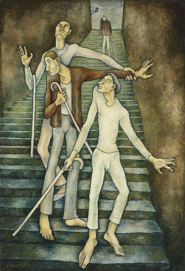 Les Aveugles - Jean Martin, 1937