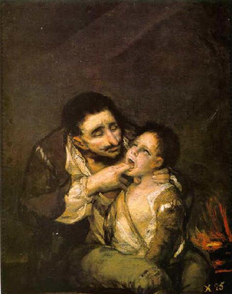 Lazarillo de Tormes - Goya, anterior a 1812