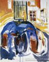 Self-Portrait During the Eye Disease II - Edvard Munch, 1930