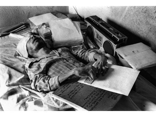 Cego in série 'Oscuridad Habitada' - foto Marco Antonio Cruz