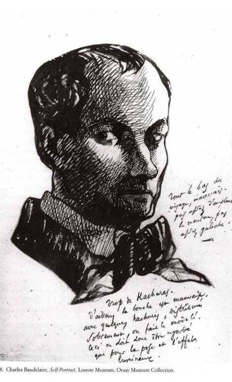 Charles Baudelaire - Auto-retrato